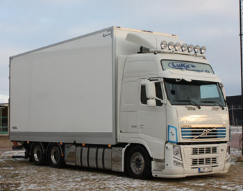 Luke Transport AB transporter Halland